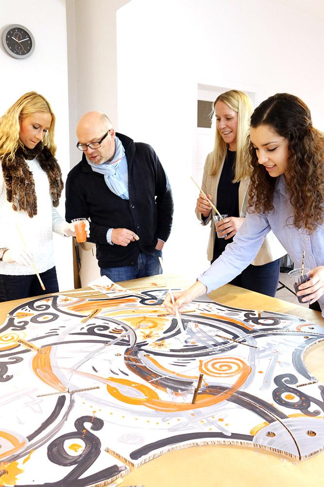 teamskulptur-workshop-franz-betz-gemeinsam-gestalten