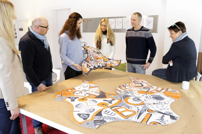 Workshop Teamskulptur mit Franz Betz.